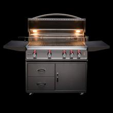 See Details - Blaze Professional 44-Inch 4 Burner Built-In Gas Grill With Rear Infrared Burner, With Fuel type - Propane