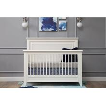 Beckett 4-in-1 Convertible Crib in Warm White