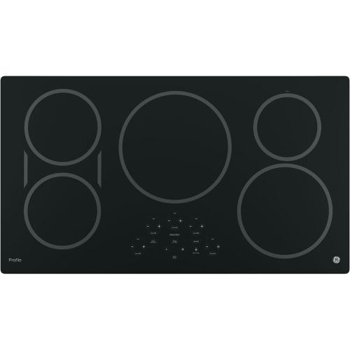 "GE Profile 30"" Slide-In Double Oven Electric Range with WiFi Connect Stainless Steel - PCS980YMFS"