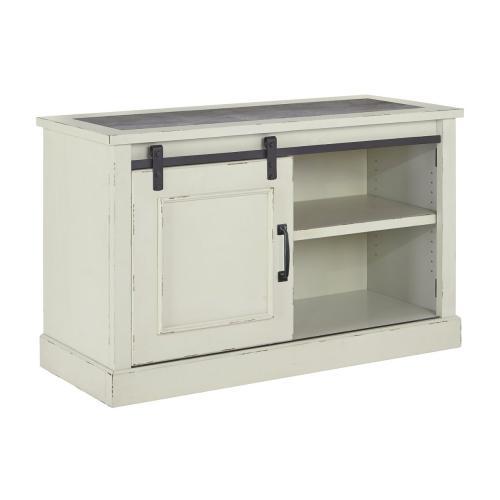 Jonileene Home Office Cabinet White/Gray