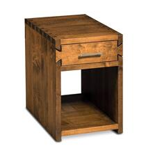 Dovetail End Table, Dovetail End Table, 16x24