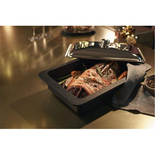 HBD 60-22 - Gourmet casserole dish lid For Miele HUB 61-22, 62-22, 5000 M and 5001 M gourmet oven dishes.