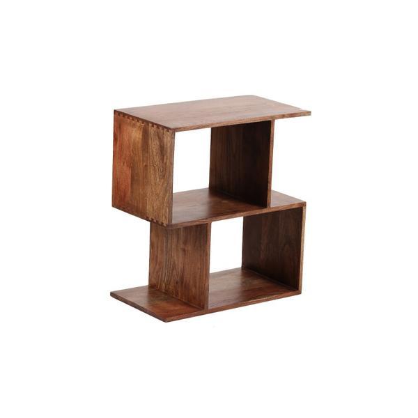 See Details - Portola Walnut 2 Cube Bookcase, 2001-1212WW