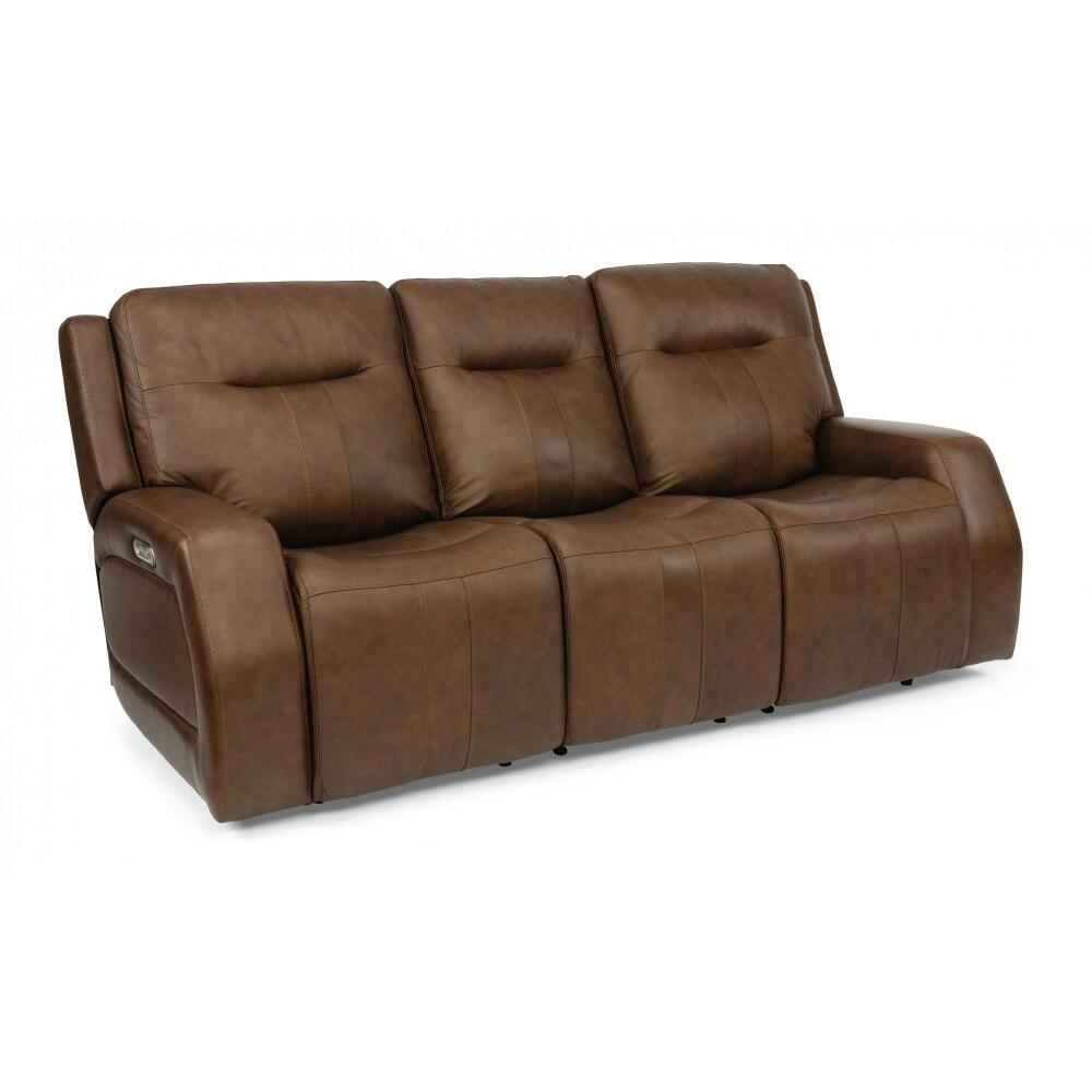 Duke Triple Power Reclining Sofa with Power Headrests
