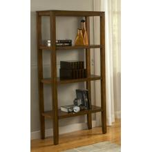 See Details - Pecan Bookcase