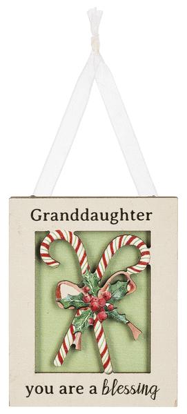Ornament - Granddaughter