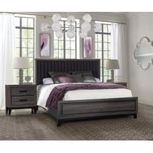 LAURA FOIL GREY/MARBLE BEDROOM W/O CASE