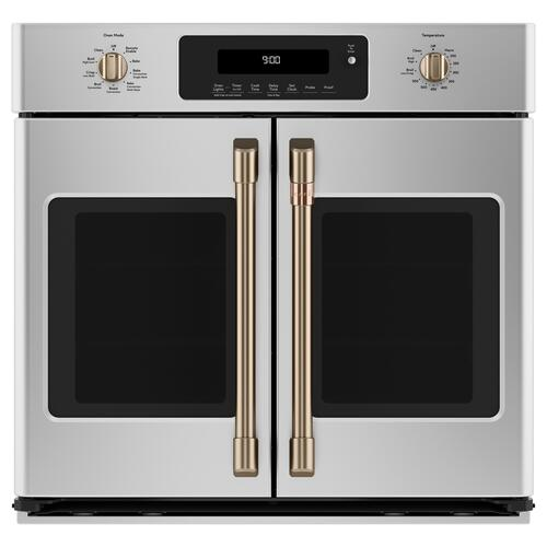 """Cafe - Café™ 30"""" Smart French-Door Single Wall Oven with Convection"""