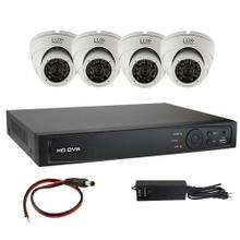 LUX Technologies 4CHL-TVI-KIT 4Ch HD-TVI DVR Kit