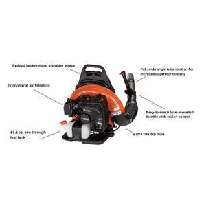 ECHO PB-755ST Powerful Backpack Leaf Blower