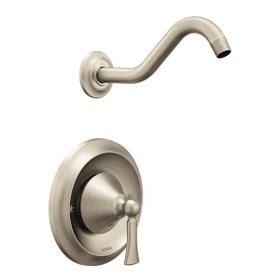 Wynford brushed nickel moentrol® shower only
