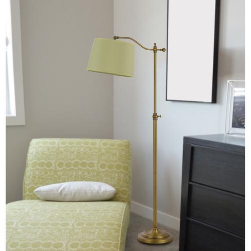 Cal Lighting & Accessories - 100W Wilmington Down Brige Fl Lamp