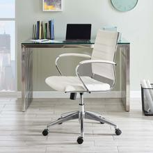 See Details - Jive Mid Back Office Chair in White