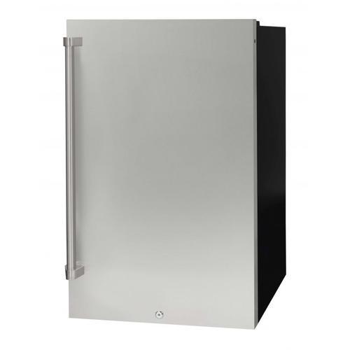 Danby - 4.4 Cu Ft Freestanding SS Outdoor Refrigerator