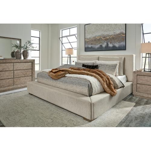 Langford California King Upholstered Bed