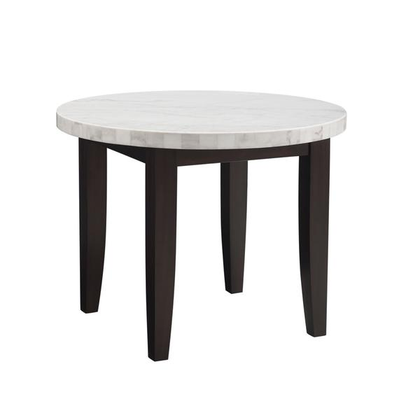 See Details - Francis 40-inch Marble Top Counter Table