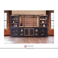 Pueblo Black Wall Unit