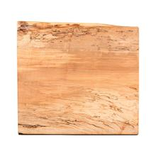 See Details - Live Edge End Table Top, Spalted Maple #17 Natural - FLLIV-03-023-SPA17