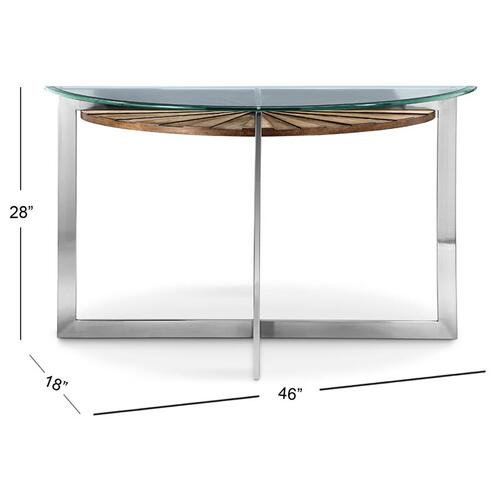 Magnussen Home - Demilune Sofa Table base