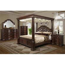 Elements Furniture TB600 Tabasco Wooden Canopy Bedroom set Houston Texas USA Aztec Furniture