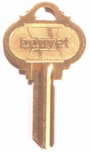 Bouvet Key Blank Product Image