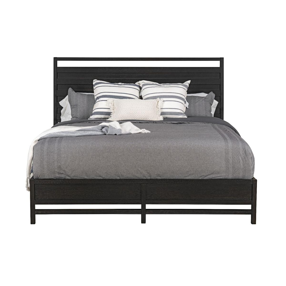 Thomas Black Queen Sleigh Bed