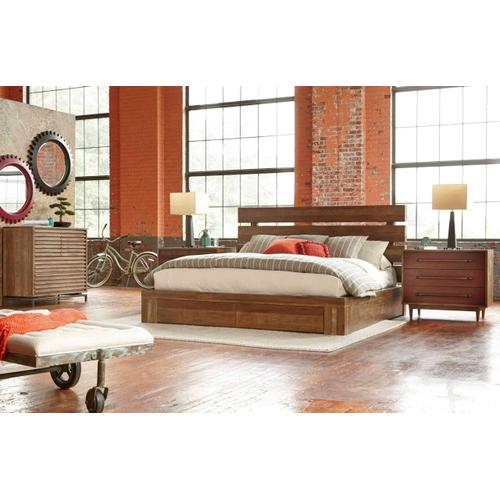 Epicenters Williamsburg Platform Storage Queen Bed