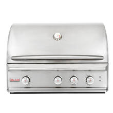 Blaze Professional LUX 34-Inch 3 Burner Built-In Gas Grill With Rear Infrared Burner, With Fuel Type - Natural Gas
