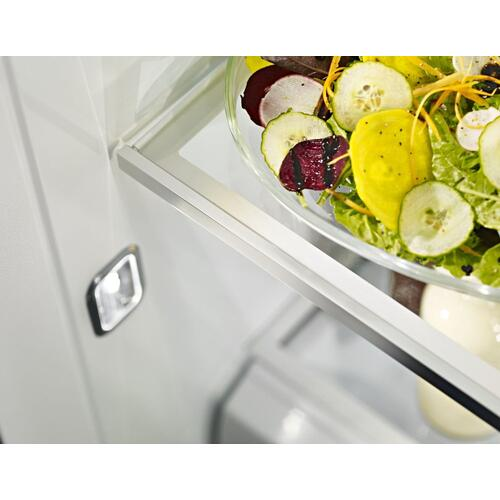 48-Inch width built-in side by side refrigerator with printscield™ finish - Other
