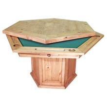 See Details - Aarons Poker Table and Base