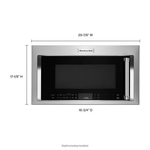 "30"" 1000-Watt Microwave Hood Combination with Convection Cooking - Stainless Steel"