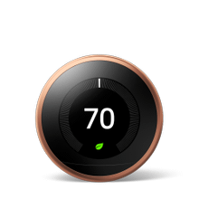 Nest Learning Thermostat 3rd Gen Copper 1 Pack