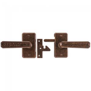 Hammered Gate Hardware Silicon Bronze Brushed Product Image