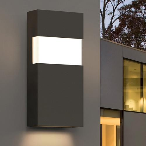 """Sonneman - A Way of Light - Band LED Sconce [Size=21"""", Color/Finish=Textured Gray]"""