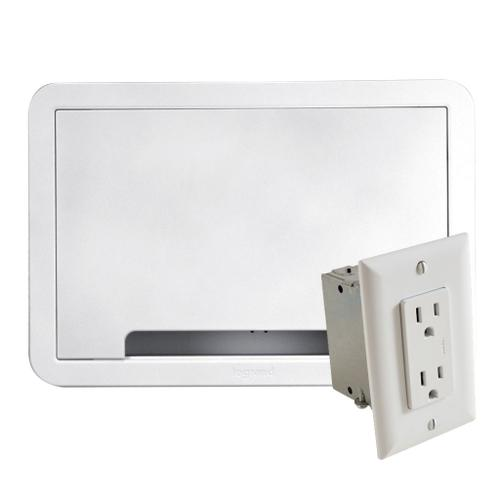 """Sanus - 9"""" TV Media In-Wall Box with Power Supply Kit"""