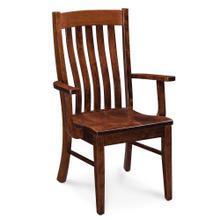View Product - Bradford Arm Chair, Fabric Cushion Seat