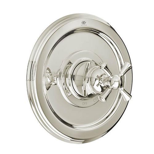 Dxv - Randall Pressure Balanced Shower Valve Trim with Cross Handle - Platinum Nickel