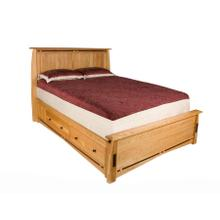 Queen Platform Bed - 811/2L X 16H - Must Be Ordered with SFB