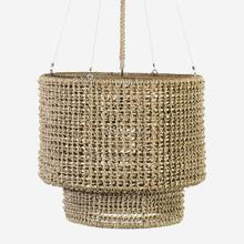 "24"" Sultan Woven Chandelier, Natural - Small(**40"" cord, not adjustable)"