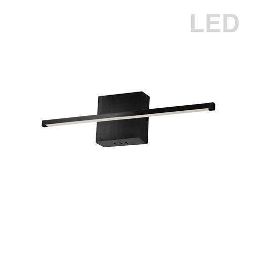 19w Wall Sconce Mb W/wh Acrylic Diffuser