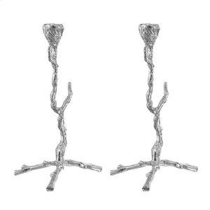 Alum Branch Candle Holders (Set of 2)