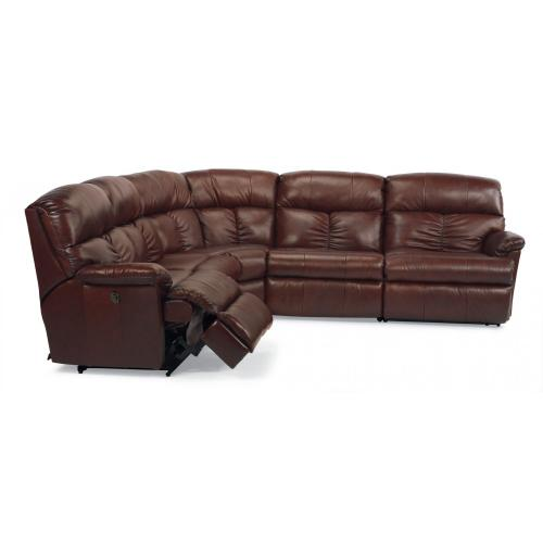 Product Image - Triton Leather Power Reclining Sectional