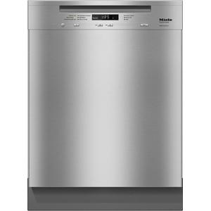 MielePre-finished, full-size dishwasher with visible control panel, 3D  cutlery tray, water softener and 6 Programs - Stainless Steel