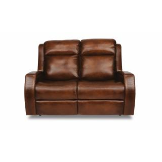 See Details - Mustang Power Reclining Loveseat with Power Headrests