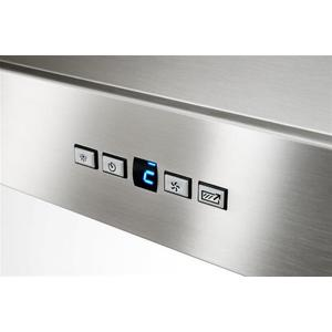 "WPP9 - 36"" Stainless Steel Chimney Range Hood with a choice of Exterior or In-line blowers, 300 to 1650 Max CFM"
