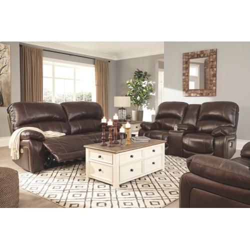 Hallstrung 2 Seat Reclining Power Sofa W/Adj Hdrst Chocolate