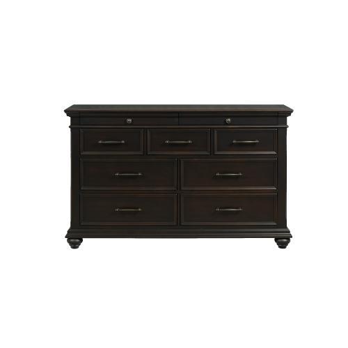 Slater 9-Drawer Dresser in Black