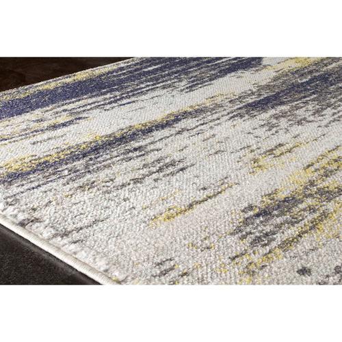 Saffron B925 Cream Blue Yellow 8 x 11