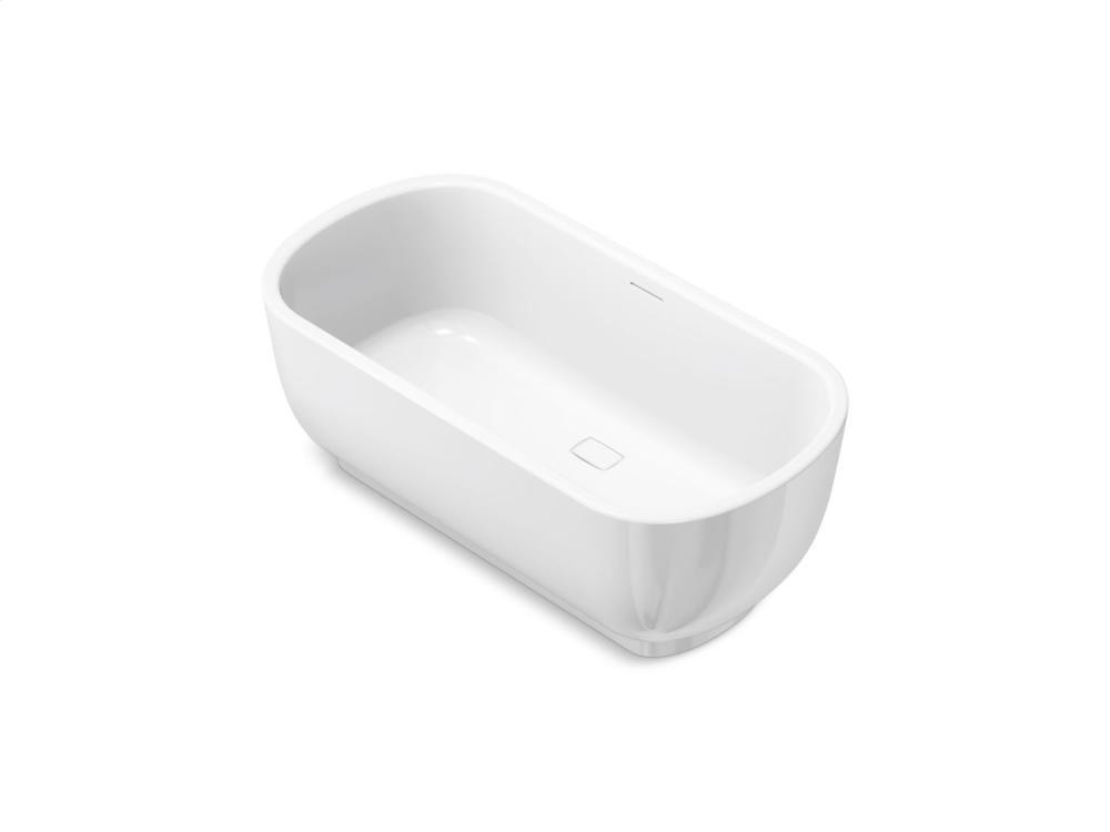 Freestanding Bathtub - Stucco White
