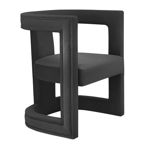 Tov Furniture - Ada Black Velvet Chair
